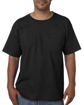 Bayside BA5070 Adult Short-Sleeve T-Shirt with Pocket