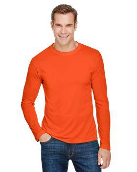Bayside BA5360 Unisex Polyester Long-Sleeve T-Shirt