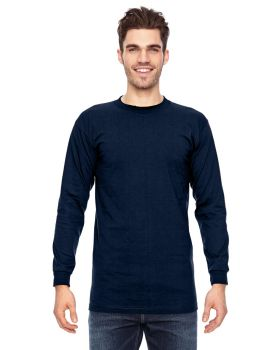 Bayside BA6100 Adult Cotton Long Sleeve T-Shirt