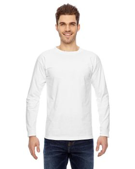 Bayside BA6100 Adult Cotton Long Sleeve T-Shirt
