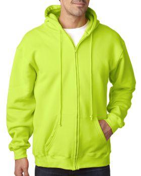 Bayside BA900 Adult Full-Zip Hooded Sweatshirt