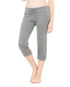 Bella Canvas 0816 6 Women Capri Scrunch Pant