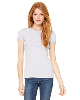 Bella Canvas 1001 Ladies' Baby Rib Short-Sleeve T-Shirt