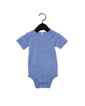 Bella Canvas 134B Infant Triblend Short-Sleeve One-Piece