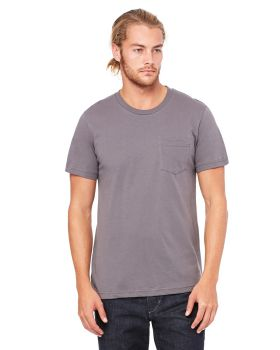Bella Canvas 3021 Men's Jersey Short-Sleeve Pocket T-Shirt