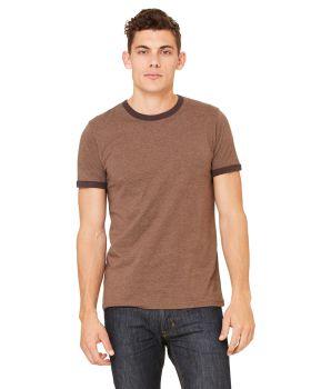 'Bella Canvas 3055C Men's Jersey Short-Sleeve Ringer T-Shirt'