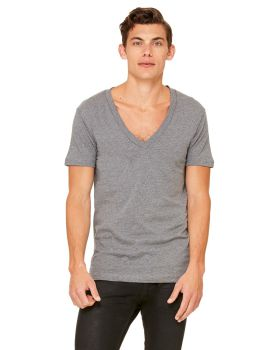 Bella Canvas 3105 5 Unisex Jersey Short-Sleeve Deep V-Neck T-Shirt