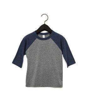 Bella Canvas 3200T Toddler 3/4-Sleeve Baseball T-Shirt