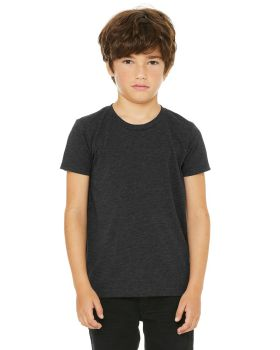 Bella Canvas 3413Y Youth Triblend Short Sleeve T-Shirt