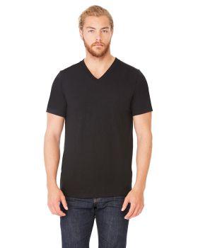 Bella Canvas 3415C Unisex Triblend Short Sleeve V Neck T-Shirt