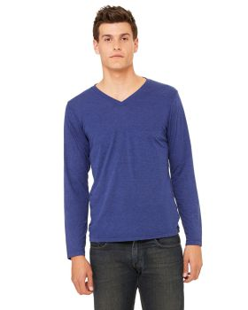 Bella Canvas 3425 Unisex Jersey Long Sleeve V Neck T-Shirt