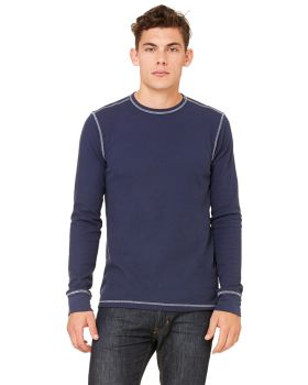 Bella Canvas 3500 Men's Thermal Long-Sleeve T-Shirt