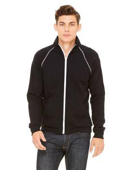 Bella Canvas 3710 Men's Piped Fleece Jacket
