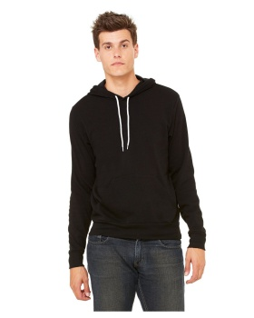 Bella Canvas 3719 Unisex Cotton Polyester Sponge Fleece Pullover Hoodie