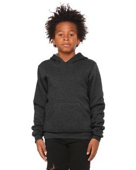 Bella + Canvas 3719Y Youth Sponge Fleece Pullover Hooded Sweatshirt