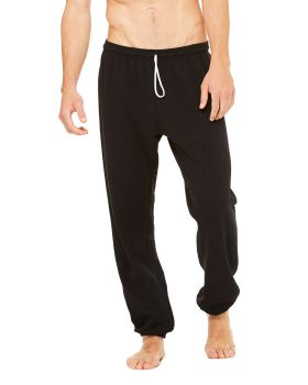 Bella Canvas 3737 Unisex Sponge Fleece Long Scrunch Pant
