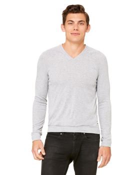 'Bella Canvas 3985 Unisex V-Neck Lightweight Sweater'