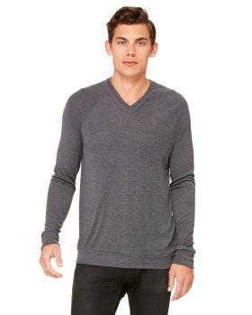 Bella Canvas 3985 Unisex V-Neck Lightweight Sweater