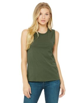 Bella Canvas 6003 3 Women's Jersey Muscle Tank Top