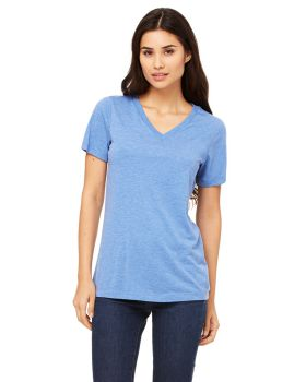 Bella Canvas 6405 Ladies' Relaxed Jersey Short-Sleeve V-Neck T-Shirt