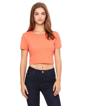 Bella Canvas 6681 Ladies' Poly-Cotton Crop T-Shirt