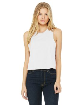Bella Canvas 6682 Ladies Racerback Cropped Tank Top