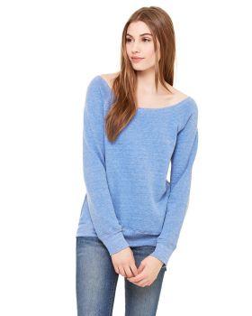 'Bella Canvas 7501 Ladies Sponge Fleece Wide Neck Sweatshirt'