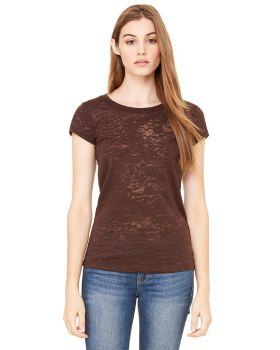 Bella Canvas 8601 1 Women Burnout Capped Sleeves T-Shirt