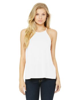 Bella Canvas 8809 Ladies Flowy High Neck Tank Top