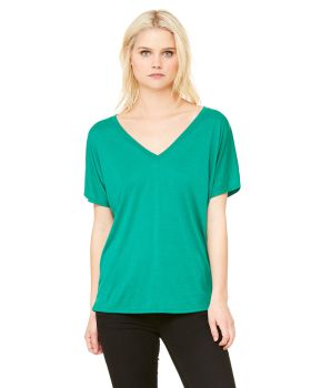 Bella Canvas 8815 Ladies Slouchy V Neck T-Shirt