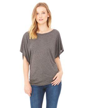 Bella Canvas 8821 Ladies' Flowy Draped Sleeve Dolman T-Shirt