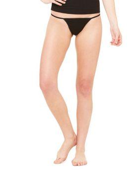 Bella Canvas B301 Ladies' Cotton/Spandex Thong Bikini