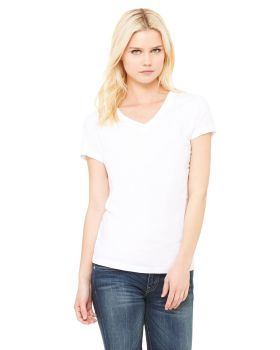 Bella Canvas B6005 Ladies Jersey Short Sleeve V Neck T-Shirt