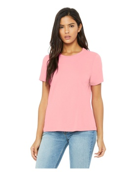 Bella Canvas B6400 Ladies Relaxed Jersey Short Sleeve T-Shirt