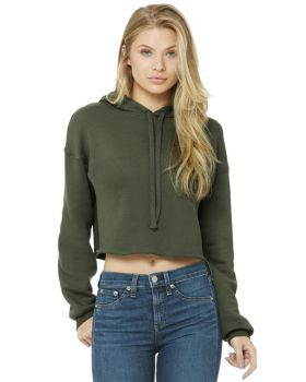 Bella Canvas B7502 Ladies' Cropped Fleece Hoodie