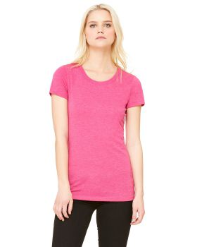 Bella Canvas B8413 Ladies Triblend Short Sleeve T-Shirt