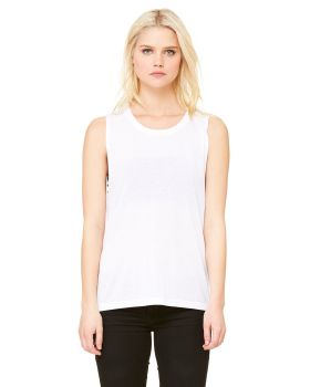 Bella Canvas B8803 Ladies Flowy Scoop Muscle Tank Top