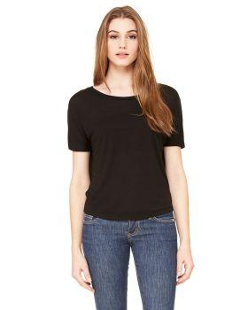 Bella Canvas B8871 Ladies' Flowy Open Back T-Shirt