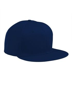 Big Accessories BA516 Flat Bill Cap