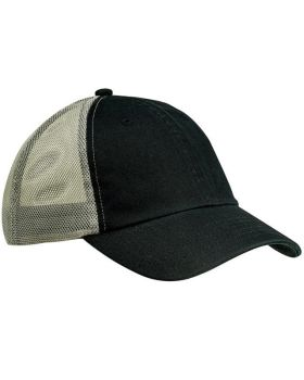 Big Accessories BA601 Washed Trucker Cap