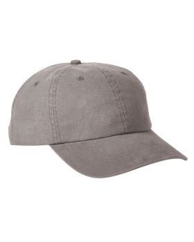 Big Accessories BA610 Heavy Washed Canvas Cap