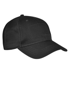 Big Accessories BA656T Patch Trucker Cap