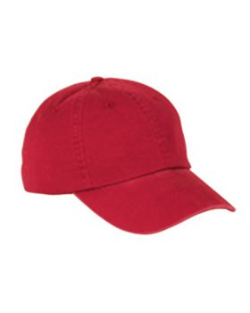 Big Accessories BX005 6-Panel Washed Twill Low-Profile Cap