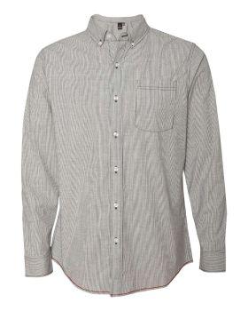 Burnside 8259 Stretch-Stripe Long Sleeve Shirt