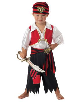 California Costumes 00051 Ahoy Matey Pirate Toddler Costume