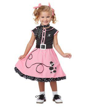 California Costumes 00134 50 Century Poodle Cutie Toddler Costume