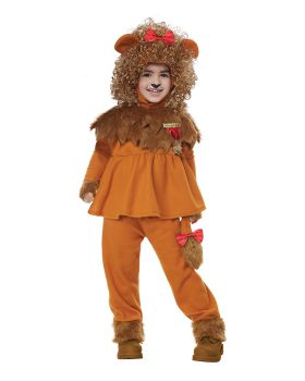 California Costumes 00183 Wizard Cowardly Girl Courageous Lion Of Oz Tod ...