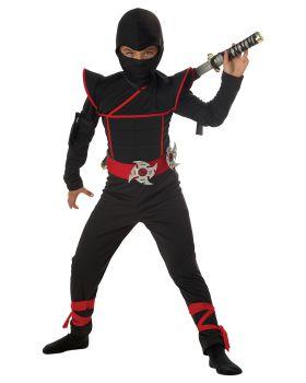 California Costumes 00228 Toys Stealth Ninja Jumpsuit