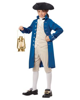 California Costumes 00486 Paul Revere Boy Costume