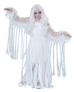California Costumes 00489 Ghostly Girl Child Costume